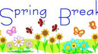 Spring Break March 19, 2018 – March 30, 2018.  School will re-open on Tuesday, April 3, 2018.