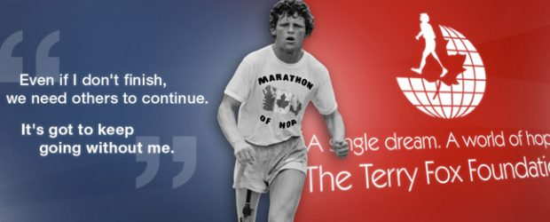 Terry Fox Run will be held on Thursday, September 28, 2017.