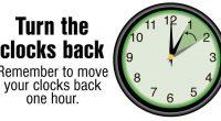 On Sunday, November 4, 2018, 2:00 am clocks are turned back one hour.