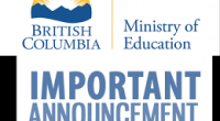 Please review curriculum updates from BC Education Minister Rob Fleming regarding: 1) New curriculum implementation for students going into grades 10-12 2) Provincial Graduation Assessments If you have specific questions […]