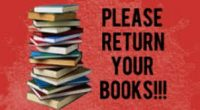 Do you have a textbook or Library book that you need to return? Please place the book on the table outside the Main doors off Antrim between the hours of […]